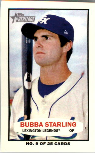 Photo of 2013 Topps Heritage Minors 1964 Bazooka #BS Bubba Starling
