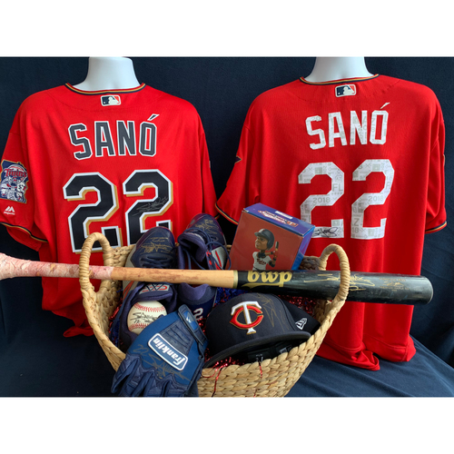 Photo of 2019 Twins Favorite Things Auction: Miguel Sano Favorite Things Basket