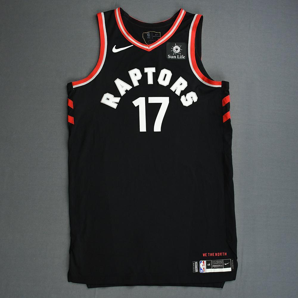 Jeremy Lin - Toronto Raptors - 2019 NBA Finals - Game 3 - Game-Worn Black Statement Edition Jersey
