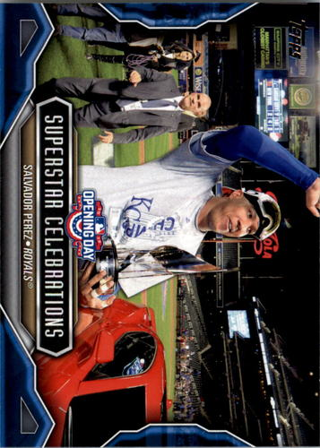 Photo of 2016 Topps Opening Day Superstar Celebrations #SC4 Salvador Perez