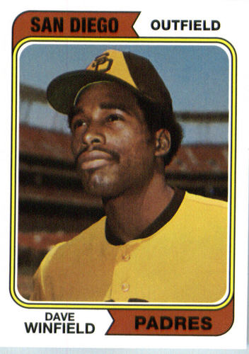 Photo of 2016 Topps Berger's Best #BB23 Dave Winfield