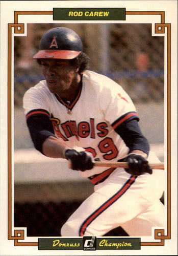 Photo of 1984 Donruss Champions #21 Rod Carew