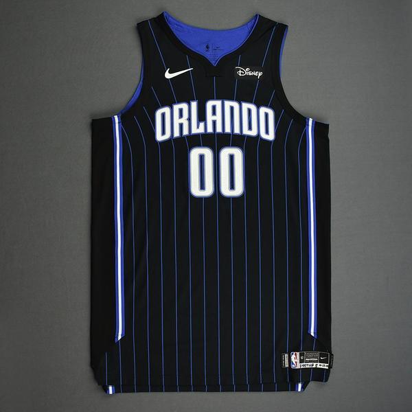 Image of Aaron Gordon - Orlando Magic - Kia NBA Tip-Off 2019 - Game-Worn Icon Edition Jersey