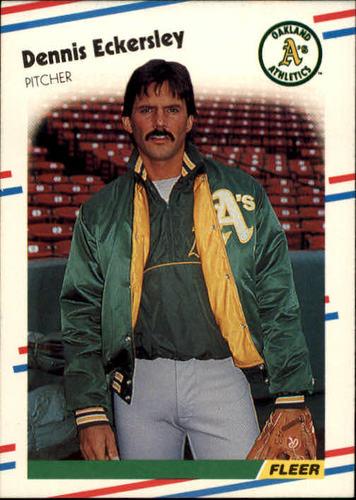 Photo of 1988 Fleer #279 Dennis Eckersley