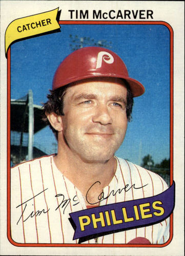 Photo of 1980 Topps #178 Tim McCarver