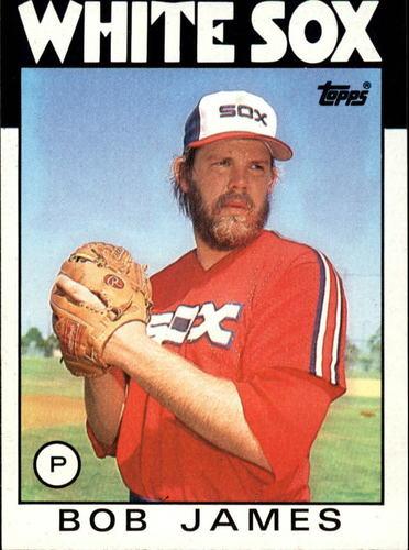 Photo of 1986 Topps #467 Bob James