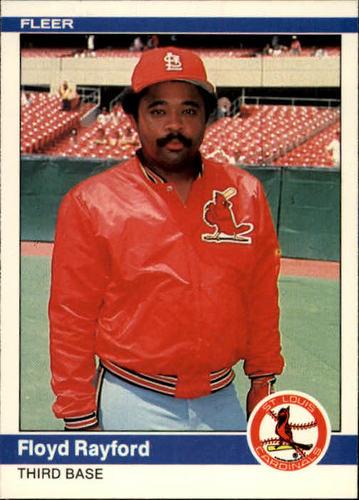 Photo of 1984 Fleer #334 Floyd Rayford
