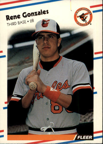 Photo of 1988 Fleer #560 Rene Gonzales RC