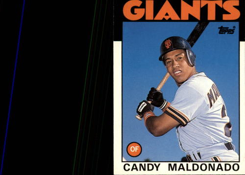 Photo of 1986 Topps Traded #69T Candy Maldonado