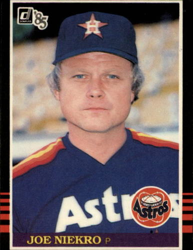 Photo of 1985 Donruss #182 Joe Niekro