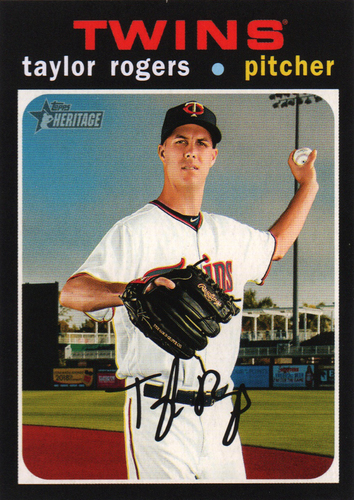 Photo of 2020 Topps Heritage #25 Taylor Rogers