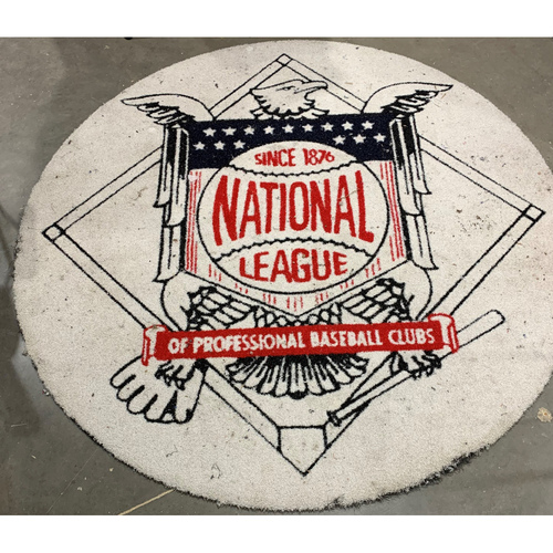 Photo of Game-Used On Deck Circle - NLDS Game 1 - October 6, 2020 SD @ LAD (Visiting Team)