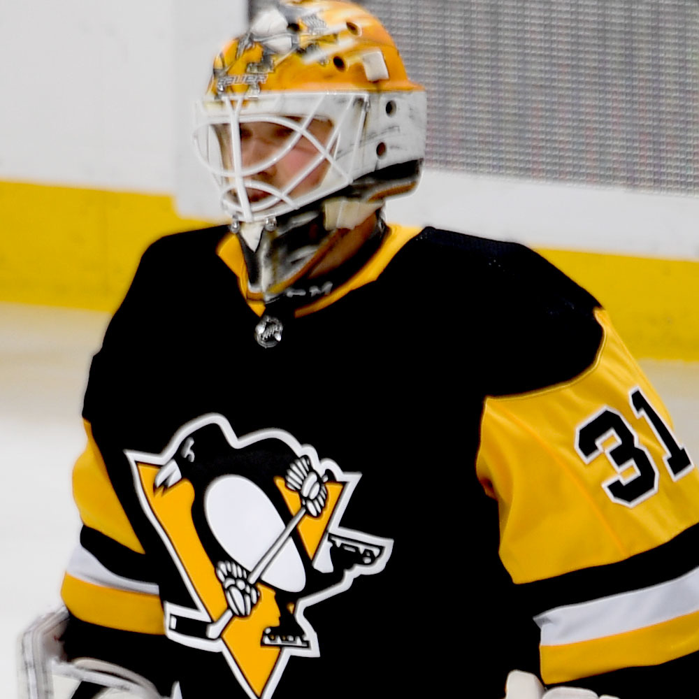 Maxime Lagace Pittsburgh Penguins