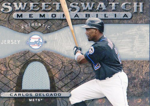 Photo of 2009 Sweet Spot Swatches #CD Carlos Delgado