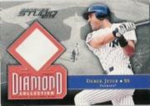 Photo of 2002 Studio Diamond Collection Artist's Proofs #4 Derek Jeter Base/200