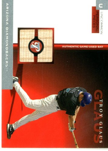Photo of 2005 Topps Pristine Personal Pieces Uncommon Relics #TG Troy Glaus Bat