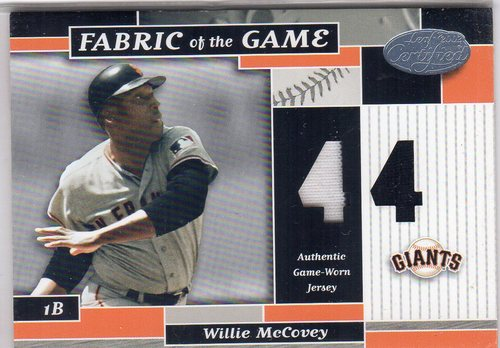 Photo of 2002 Leaf Certified Fabric of the Game #78JN Willie McCovey/44