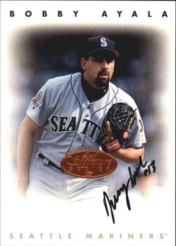 Photo of 1996 Leaf Signature Autographs #13 Bobby Ayala