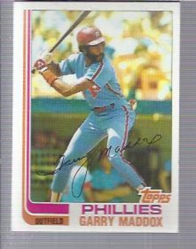 Photo of 1982 Topps #20 Garry Maddox