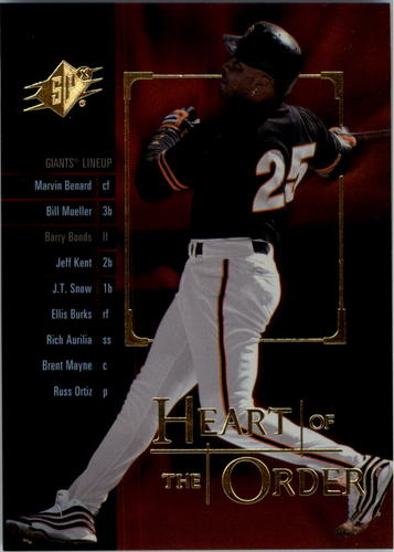 Photo of 2000 SPx Heart of the Order #H15 Barry Bonds