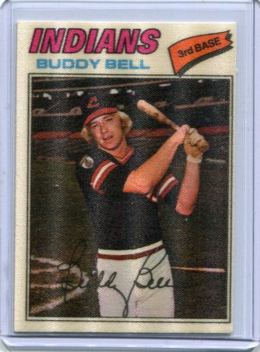 Photo of 1977 Topps Cloth Stickers #2 Buddy Bell SP