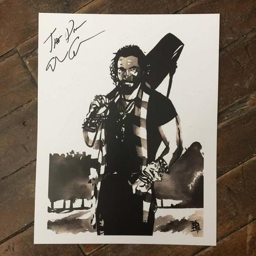 Elias Samson SIGNED 11 x 14 Rob Schamberger Print