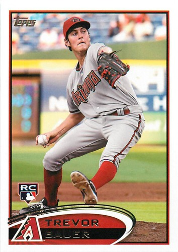 Photo of 2012 Topps Update #US213 Trevor Bauer Rookie Card