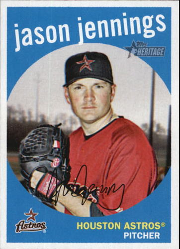 Photo of 2008 Topps Heritage #42 Jason Jennings GB SP