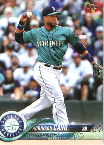 Photo of 2018 Topps #240 Robinson Cano