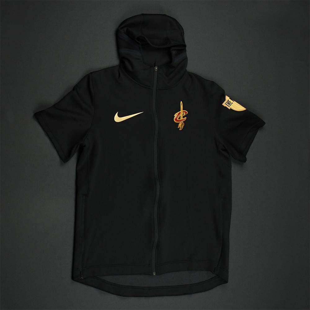 LeBron James - Cleveland Cavaliers - 2018 NBA Finals - Game-Worn Photo-Matched Hooded Warmup Jacket