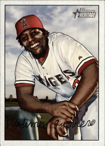 Photo of 2007 Bowman Heritage #25 Vladimir Guerrero -- Newest Hall of Famer -- Class of 2018