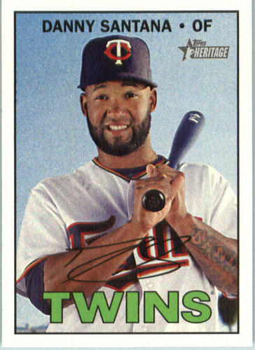 Photo of 2016 Topps Heritage #670 Danny Santana