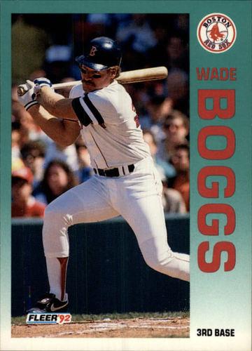 Photo of 1992 Fleer #32 Wade Boggs