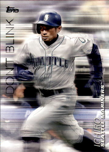 Photo of 2018 Topps Update Don't Blink #DB7 Ichiro