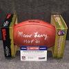 HOF - BILLS MARV LEVY SIGNED AUTHENTIC FOOTBALL