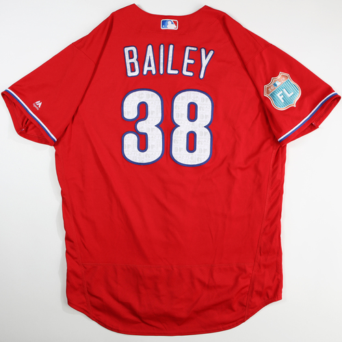 Photo of 2016  Spring Training -  Game-Used Jersey - Andrew Bailey (Phillies) - Size 50