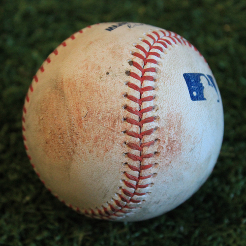 Photo of Game-Used Baseball: Harold Castro 80th Career Hit (9/5/19 - DET @ KC)