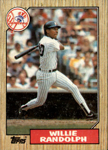 Photo of 1987 Topps #701 Willie Randolph