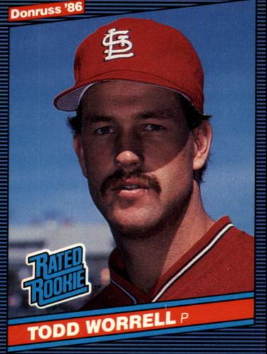 Photo of 1986 Donruss #43 Todd Worrell RC