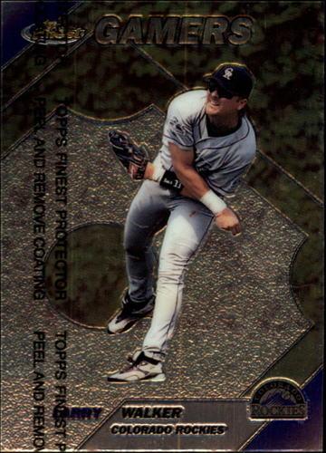 Photo of 1999 Finest #271 Larry Walker GM