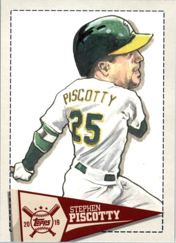 Photo of 2019 Topps Big League Star Caricature Reproductions #SCRSP Stephen Piscotty