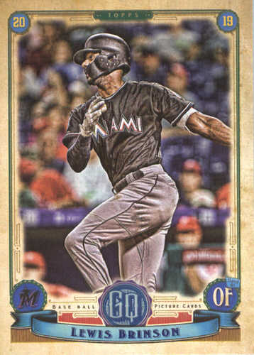 Photo of 2019 Topps Gypsy Queen #34 Lewis Brinson