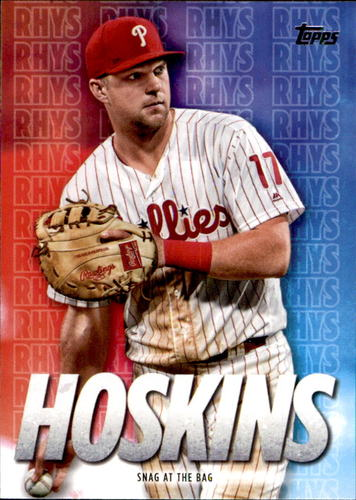 Photo of 2020 Topps Rhys Hoskins Highlights #RH23 Rhys Hoskins