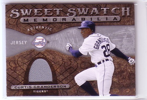Photo of 2009 Sweet Spot Swatches #CG Curtis Granderson
