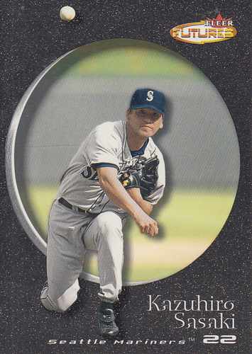 Photo of 2001 Fleer Futures Black Gold #61 Kazuhiro Sasaki