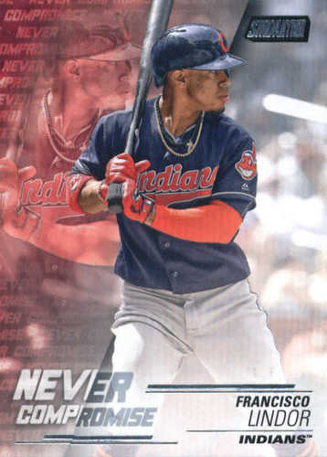 Photo of 2018 Stadium Club Never Compromise #NCFL Francisco Lindor