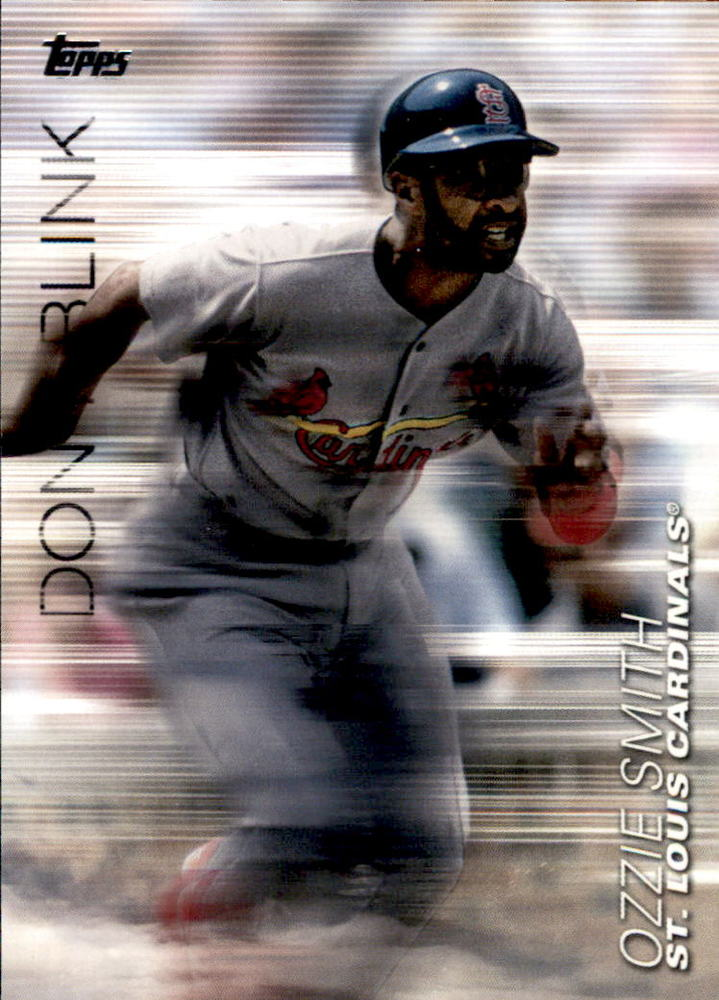 2018 Topps Update Don't Blink #DB12 Ozzie Smith
