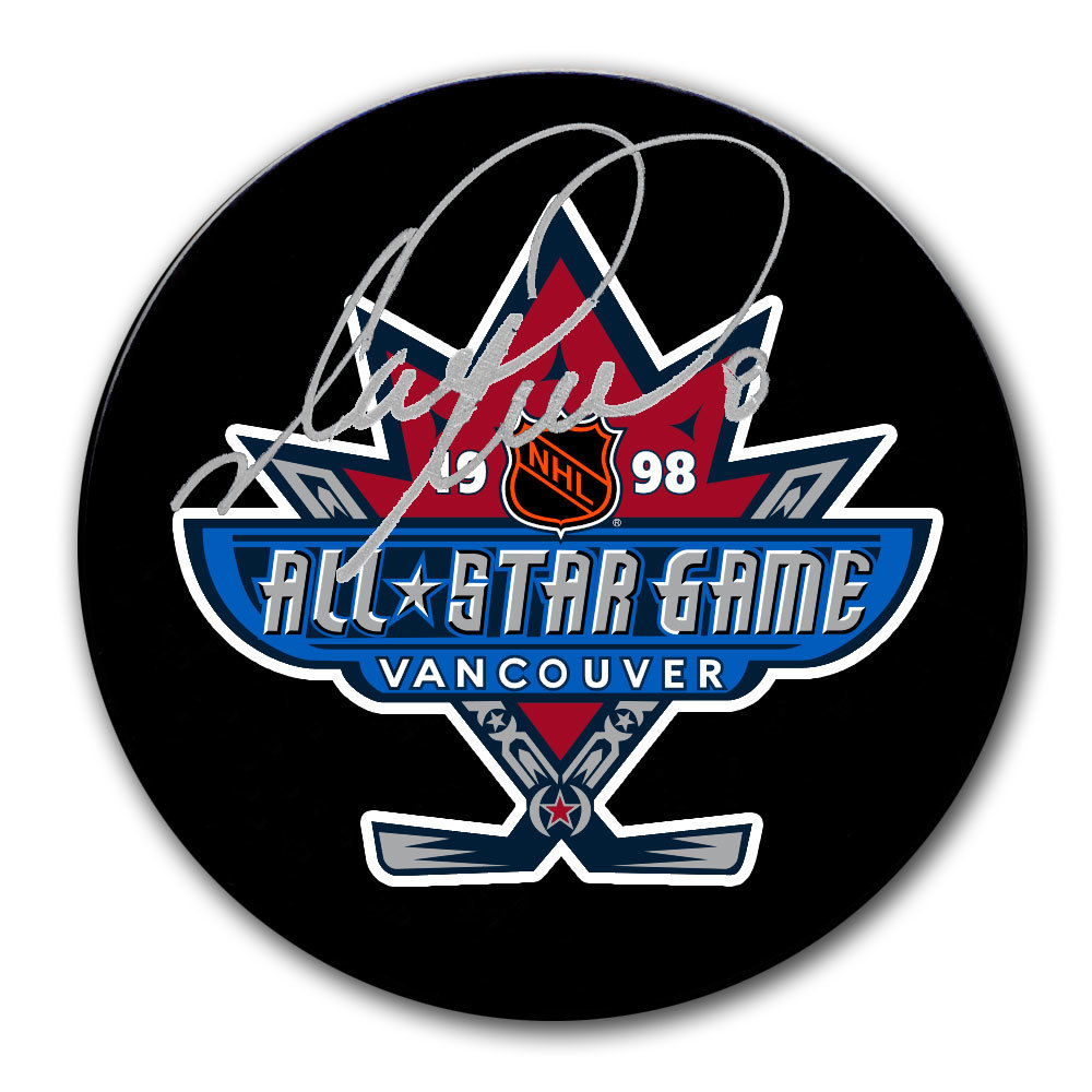 Mark Recchi 1998 NHL All-Star Game Autographed Puck