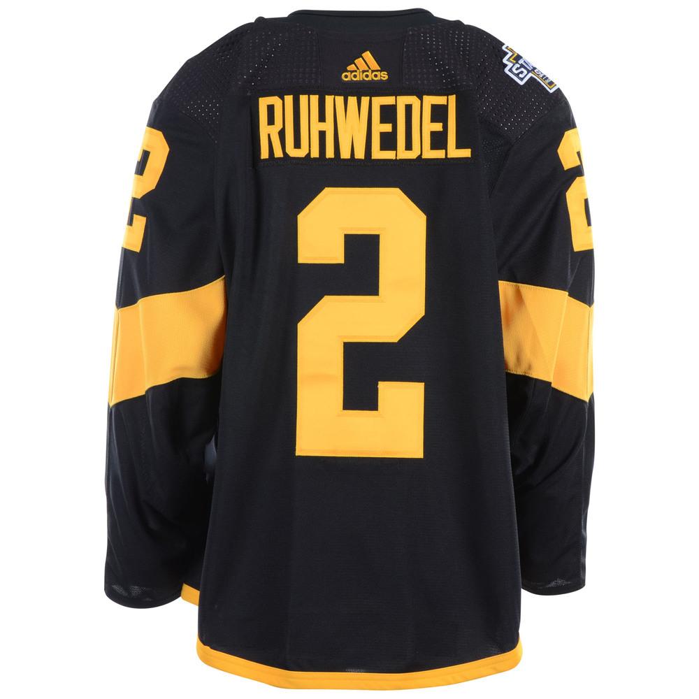 promo code 36aef 0db09 Chad Ruhwedel Pittsburgh Penguins Game-Worn 2019 NHL Stadium ...
