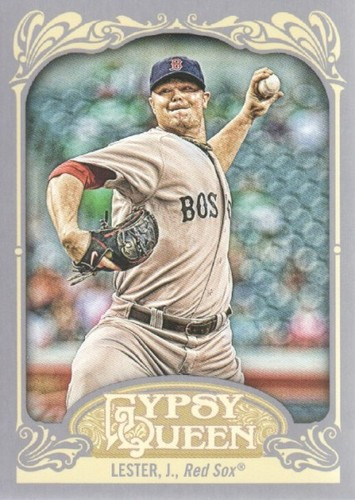 Photo of 2012 Topps Gypsy Queen #35 Jon Lester
